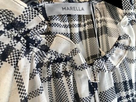 綿絹の爽やかブラウス♪(MARELLA)