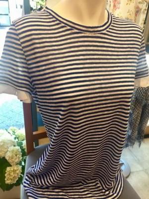 MARELLAマレーラ 麻素材Tシャツ