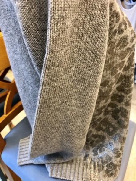 レオパード柄セーター(MARELLAマレーラ)