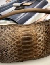 イタリア製ヘビ革3wayBAG