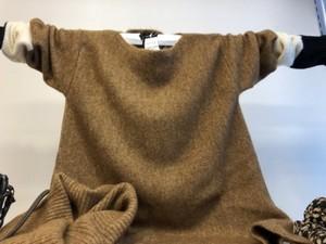 スヌード付きぬくぬくセーター(PENNYBLACKペニーブラック)