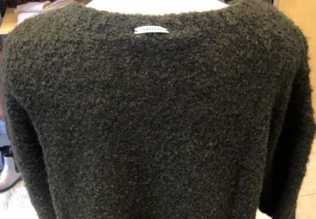 フリンジが可愛いモコモコセーター(humilityユミリティ)