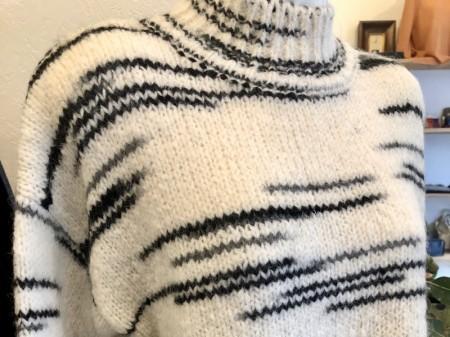 アルパカの暖かセーター♪