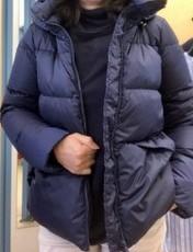 イタリアインポート紺色ダウンジャケット(MARELLAマレーラ)